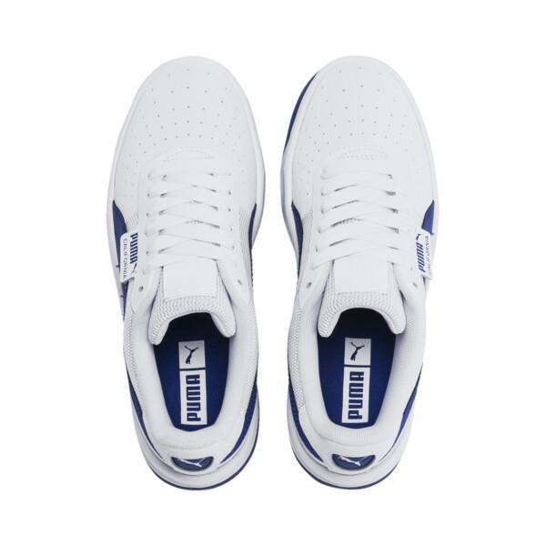 California Sneakers JR, Puma White-Galaxy Blue, large