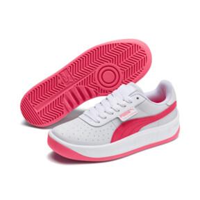 Miniatura 2 de Zapatos deportivos California JR, Puma White-Pink Alert, mediano