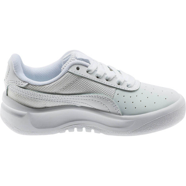 California Little Kids' Shoes, P White-P  White-Puma White, large