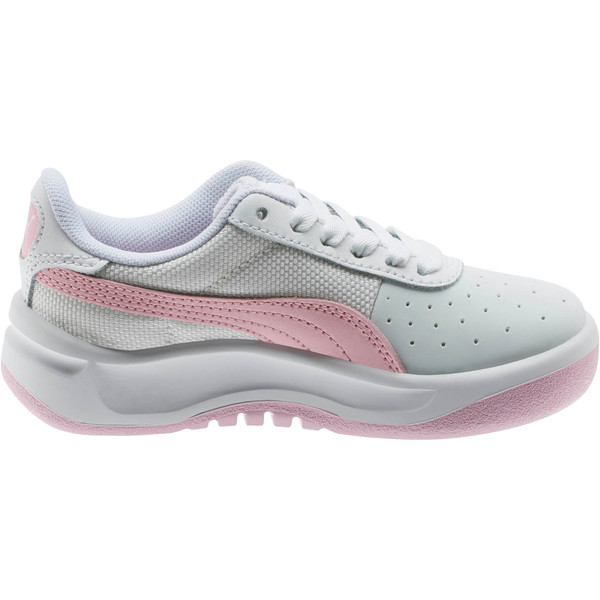 California Little Kids' Shoes, Puma Wht-Pale Pink-Puma Wht, large