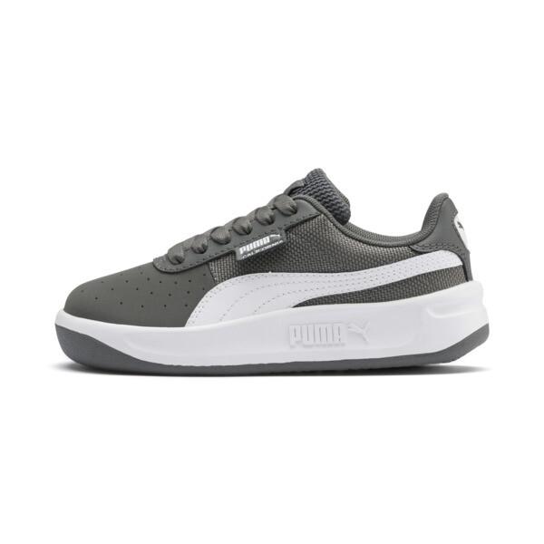 Zapatos California para niños pequeños, CASTLEROCK-Puma White, grande