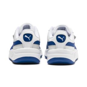 Miniatura 4 de Zapatos California para niños pequeños, Puma White-Galaxy Blue, mediano