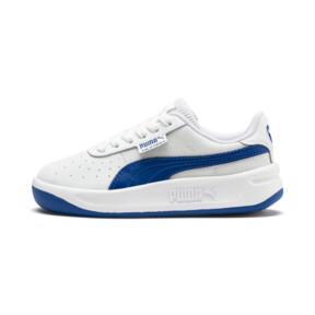 Miniatura 1 de Zapatos California para niños pequeños, Puma White-Galaxy Blue, mediano