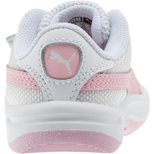 Zapatos California para bebés, Puma Wht-Pale Pink-Puma Wht, grande