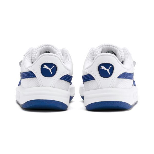 Zapatos California para bebés, Puma White-Galaxy Blue, grande