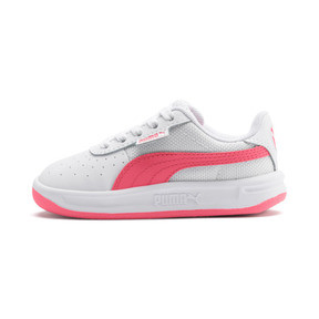 Thumbnail 1 of California Toddler Shoes, Puma White-Pink Alert, medium