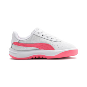 Thumbnail 5 of California Toddler Shoes, Puma White-Pink Alert, medium