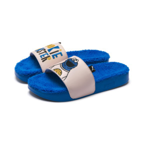 Thumbnail 7 of Sesame Street 50 Youth Leadcat Sandals, Indigo Bunting-Veiled Rose, medium