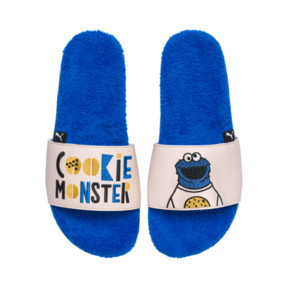 Thumbnail 5 of Sesame Street 50 Youth Leadcat Sandals, Indigo Bunting-Veiled Rose, medium