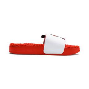 Thumbnail 4 of Sesame Street 50 Leadcat Slides JR, Cherry Tomato-Puma White, medium
