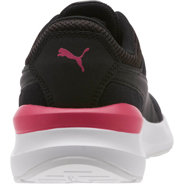 Adela Girl's Sneakers JR, Puma Black-Puma Black, large
