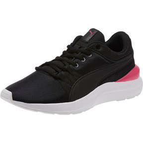 Thumbnail 1 of Adela Girl's Sneakers JR, Puma Black-Puma Black, medium