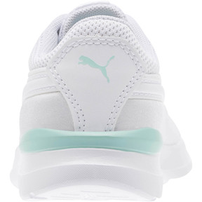 Thumbnail 4 of Adela AC Girl's Sneakers PS, Puma White-Puma White, medium