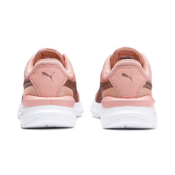 Adela Spark Girl's Sneakers JR, Peach Bud-Rose Gold, large