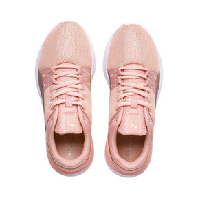 Thumbnail 6 of Adela Spark Girl's Sneakers JR, Peach Bud-Rose Gold, medium