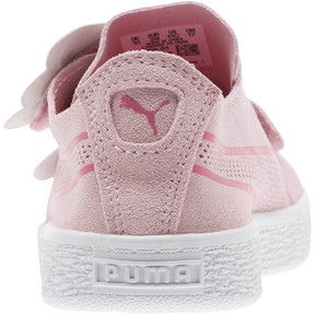 Thumbnail 3 of Suede Deconstruct Butterfly Sneakers PS, Pale Pink-Fuchsia Purple, medium
