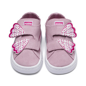 Thumbnail 6 of Suede Deconstruct Butterfly Sneakers PS, Pale Pink-Fuchsia Purple, medium