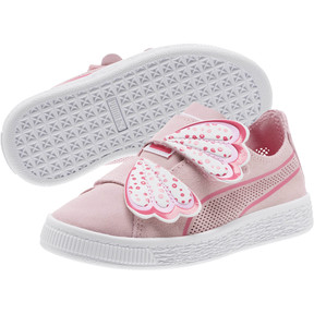 Thumbnail 2 of Suede Deconstruct Butterfly Sneakers PS, Pale Pink-Fuchsia Purple, medium