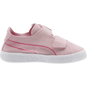 Thumbnail 4 of Suede Deconstruct Butterfly Sneakers PS, Pale Pink-Fuchsia Purple, medium