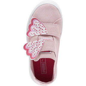 Thumbnail 5 of Suede Deconstruct Butterfly Sneakers PS, Pale Pink-Fuchsia Purple, medium