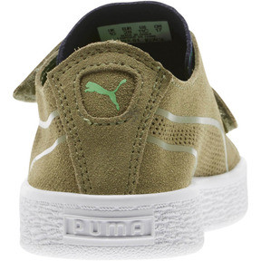 Thumbnail 3 of Suede Deconstruct Monster Little Kids' Shoes, Olivine-Peacoat-Irish Green, medium