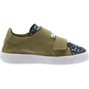 Thumbnail 4 of Suede Deconstruct Monster Little Kids' Shoes, Olivine-Peacoat-Irish Green, medium