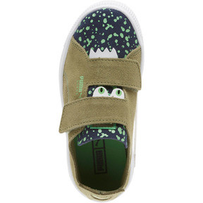 Thumbnail 5 of Suede Deconstruct Monster Little Kids' Shoes, Olivine-Peacoat-Irish Green, medium