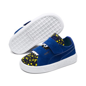 Thumbnail 2 of Suede Deconstructed Monster Kids' Trainers, Surf-Peac-Blazing Yellow, medium