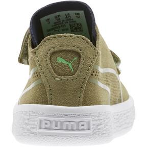 Thumbnail 3 of Suede Deconstruct Monster Toddler Shoes, Olivine-Peacoat-Irish Green, medium