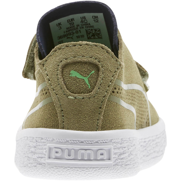 Suede Deconstruct Monster Toddler Shoes, Olivine-Peacoat-Irish Green, large