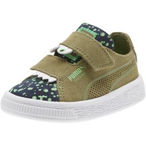 Thumbnail 1 of Suede Deconstruct Monster Toddler Shoes, Olivine-Peacoat-Irish Green, medium