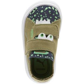 Thumbnail 5 of Suede Deconstruct Monster Toddler Shoes, Olivine-Peacoat-Irish Green, medium