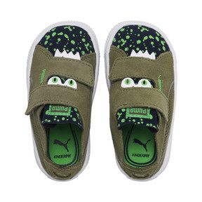 Thumbnail 6 of Suede Monster Babies' Trainers, Olivine-Peacoat-Irish Green, medium