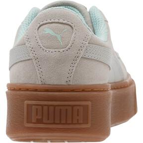 Thumbnail 4 of Suede Platform Radicals Sneakers JR, Gray Violet-Fair Aqua, medium