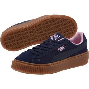 Miniatura 2 de Zapatos deportivosSuedePlatform Radicals JR, Peacoat-Pale Pink, mediano