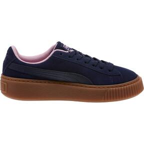 Miniatura 3 de Zapatos deportivosSuedePlatform Radicals JR, Peacoat-Pale Pink, mediano