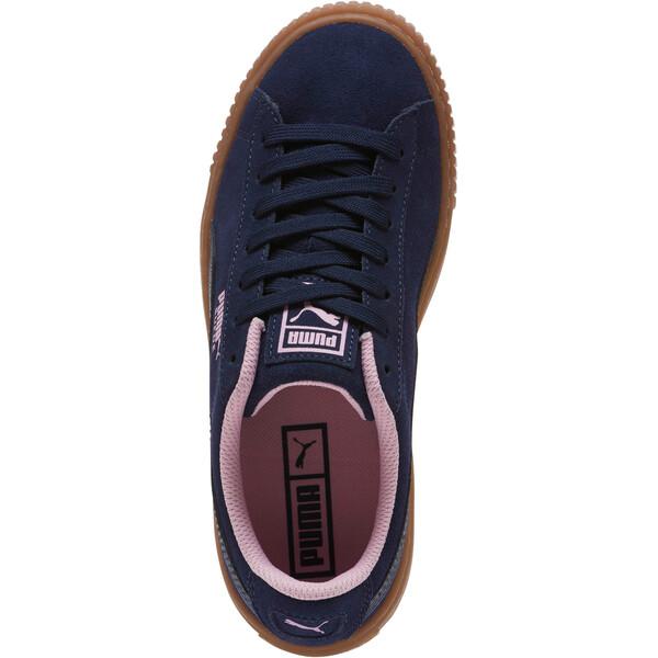 Zapatos deportivosSuedePlatform Radicals JR, Peacoat-Pale Pink, grande