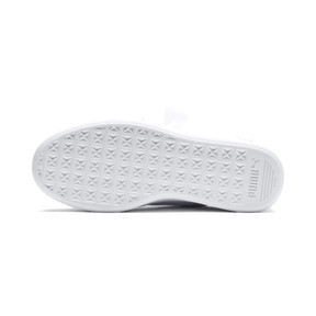 Thumbnail 4 of Vikky Stacked Ribbon Core Women's Trainers, Puma White-Puma White, medium