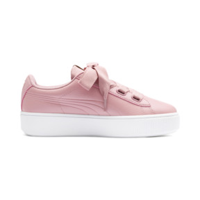 Thumbnail 6 of PUMA Vikky Stacked Ribbon Core Women's Sneakers, Bridal Rose-Bridal Rose, medium