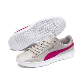 Thumbnail 2 of PUMA Vikky v2 Summer Women's Sneakers, Silver Gray-F Purple-Silver, medium
