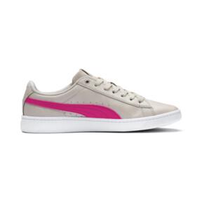 Thumbnail 5 of PUMA Vikky v2 Summer Women's Sneakers, Silver Gray-F Purple-Silver, medium