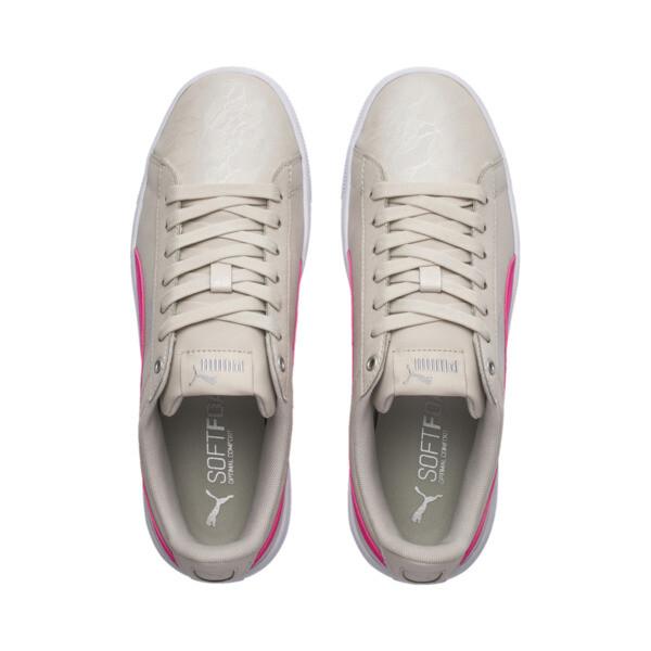 PUMA Vikky v2 Summer Women's Sneakers, Silver Gray-F Purple-Silver, large