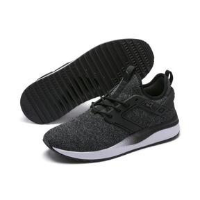 Thumbnail 2 of Pacer Next Excel VariKnit Sneakers, Puma Black-Charcoal Gray, medium