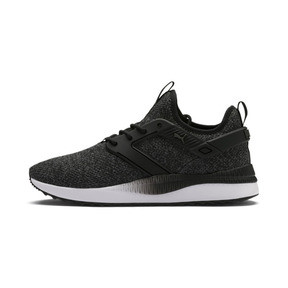 Thumbnail 1 of Pacer Next Excel VariKnit Sneakers, Puma Black-Charcoal Gray, medium