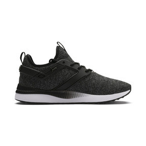 Thumbnail 5 of Pacer Next Excel VariKnit Sneakers, Puma Black-Charcoal Gray, medium