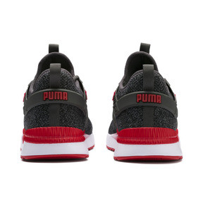Thumbnail 3 of Pacer Next Excel VariKnit Sneakers, Dark Shadow-High Risk Red, medium