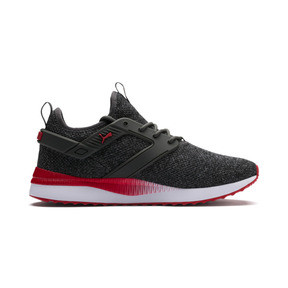 Thumbnail 5 of Pacer Next Excel VariKnit Sneakers, Dark Shadow-High Risk Red, medium