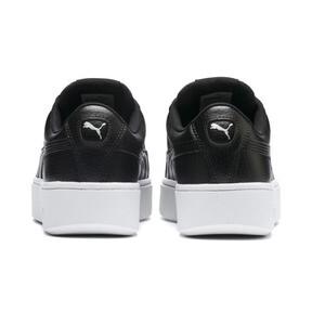Thumbnail 3 of Vikky Stacked Damen Sneaker, Puma Black-Puma Black, medium