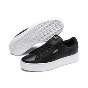 Thumbnail 2 of Vikky Stacked Damen Sneaker, Puma Black-Puma Black, medium