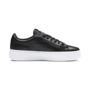 Thumbnail 5 of Vikky Stacked Damen Sneaker, Puma Black-Puma Black, medium